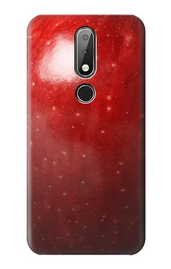 Printed Red Apple Texture Seamless Nokia X6 Case