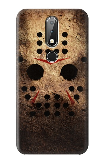 Printed Jason Hockey Mask Nokia X6 Case