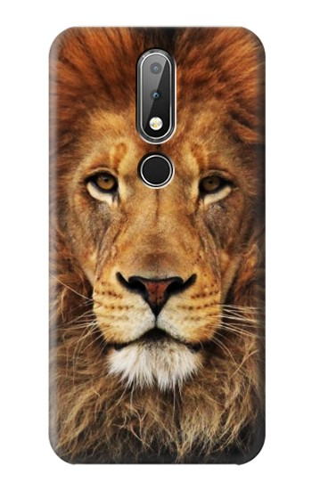 Printed Lion King of Beasts Nokia X6 Case