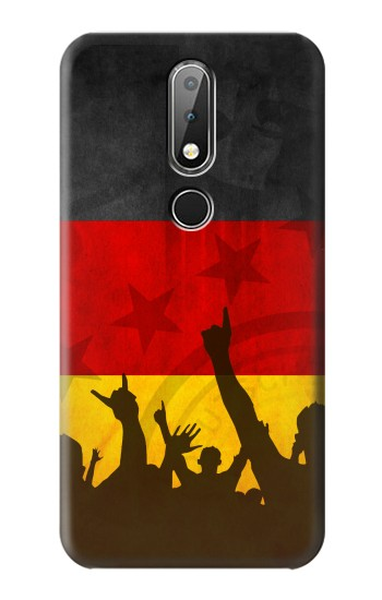 Printed Germany Football Flag Nokia X6 Case