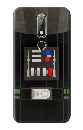 Printed Darth Vader Chest Plate Nokia X6 Case