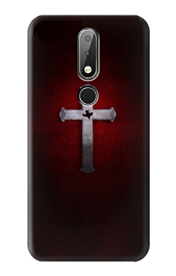 Printed Christian Cross Nokia X6 Case