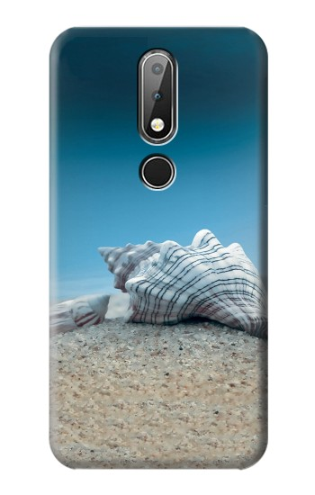 Printed Sea Shells Under the Sea Nokia X6 Case