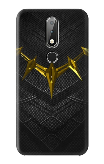 Printed Black Panther Inspired Costume Gold Necklace Nokia X6 Case