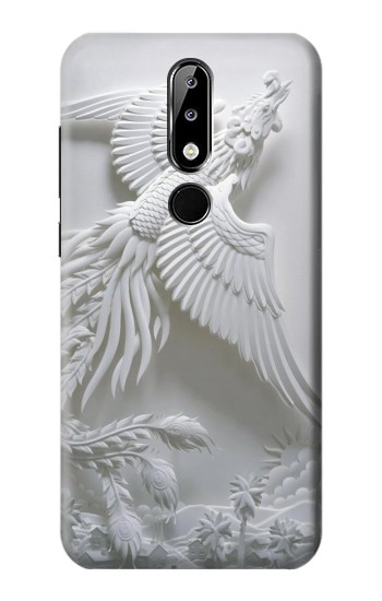 Printed Phoenix Carving Nokia 5.1 Plus (Nokia X5) Case