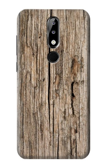 Printed Wood Nokia 5.1 Plus (Nokia X5) Case