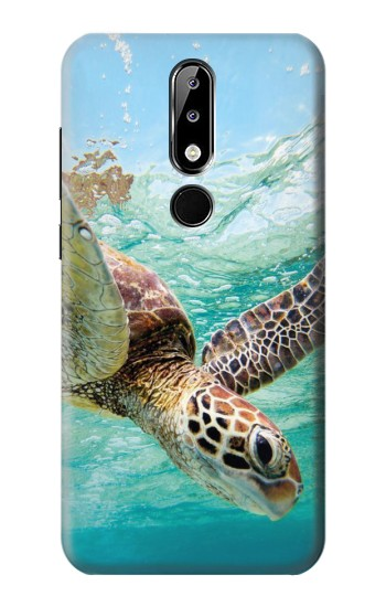 Printed Ocean Sea Turtle Nokia 5.1 Plus (Nokia X5) Case