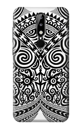 Printed Maori Tattoo Nokia 5.1 Plus (Nokia X5) Case