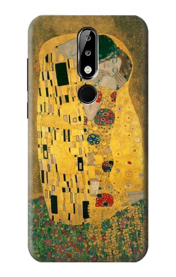 Printed Gustav Klimt The Kiss Nokia 5.1 Plus (Nokia X5) Case