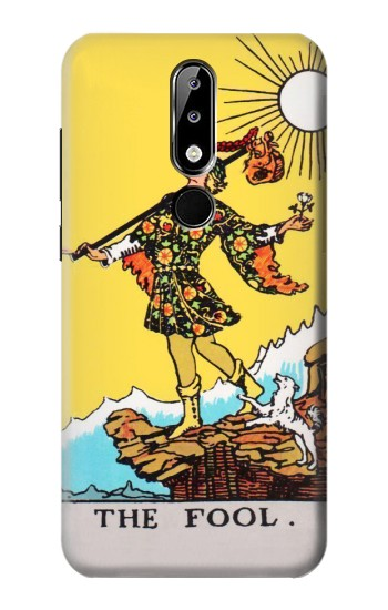 Printed Tarot Card The Fool Nokia 5.1 Plus (Nokia X5) Case