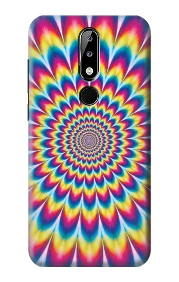Printed Colorful Psychedelic Nokia 5.1 Plus (Nokia X5) Case