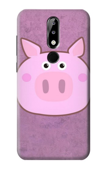 Printed Pig Cartoon Nokia 5.1 Plus (Nokia X5) Case