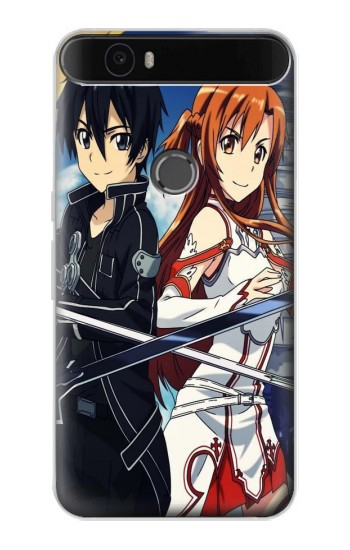 Printed Sword Art Online Huawei Nexus 6P Case