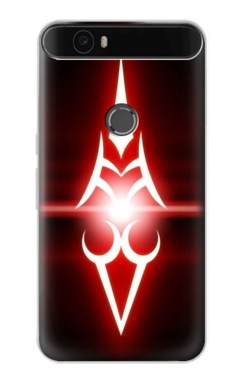 Printed Fate Stay Night Saber Command Spells Huawei Nexus 6P Case