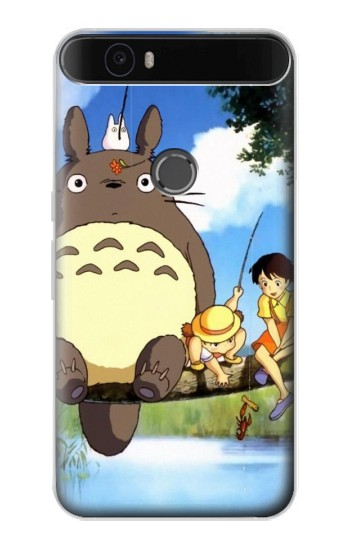 Printed Totoro and Friends Huawei Nexus 6P Case