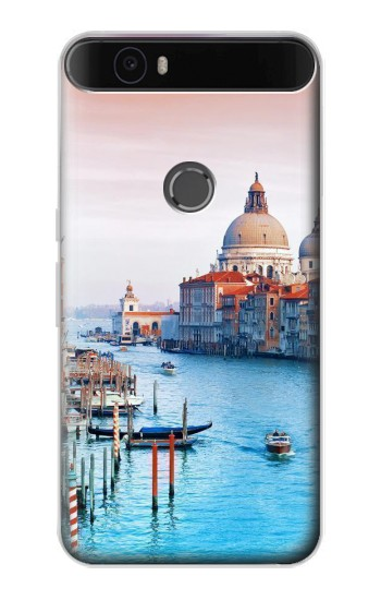 Printed Beauty of Venice Italy Huawei Nexus 6P Case