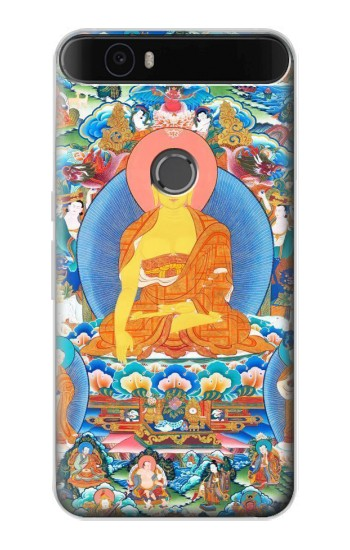 Printed Buddha Paint Huawei Nexus 6P Case