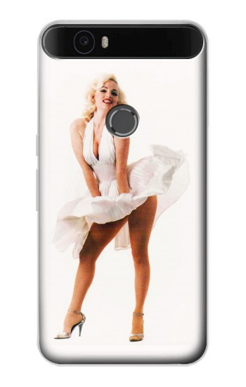 Printed Marilyn Monroe Dress Blowing Huawei Nexus 6P Case