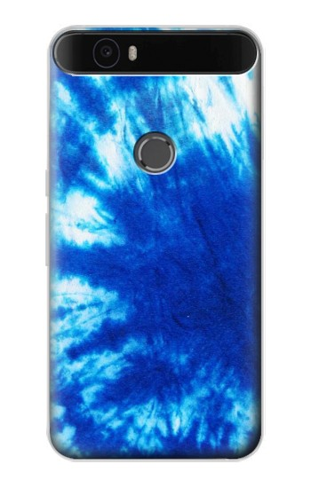 Printed Tie Dye Blue Huawei Nexus 6P Case