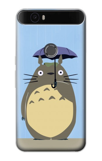 Printed My Neighbor Totoro Rain Huawei Nexus 6P Case