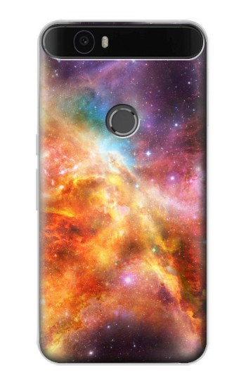 Printed Nebula Rainbow Space Huawei Nexus 6P Case
