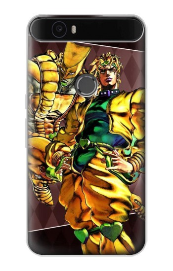 Printed Jojo Bizarre Adventure Dio Brando The World Huawei Nexus 6P Case