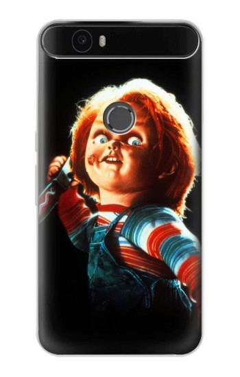Printed Chucky With Knife Huawei Nexus 6P Case