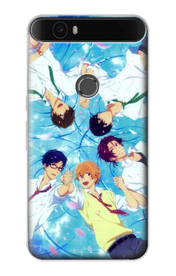 Printed Free Iwatobi Swim Club 02 Huawei Nexus 6P Case