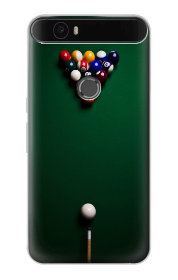 Printed Billiard Pool Huawei Nexus 6P Case