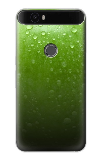 Printed Green Apple Texture Seamless Huawei Nexus 6P Case