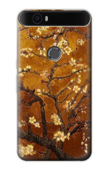 Printed Yellow Blossoming Almond Tree Van Gogh Huawei Nexus 6P Case