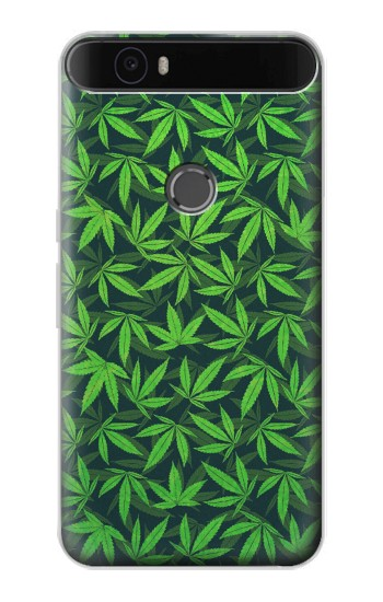 Printed Marijuana Pattern Huawei Nexus 6P Case