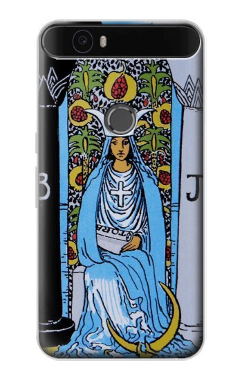 Printed High Priestess Tarot Card Huawei Nexus 6P Case