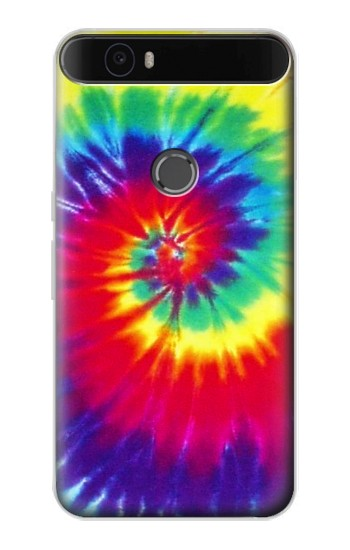 Printed Tie Dye Fabric Color Huawei Nexus 6P Case