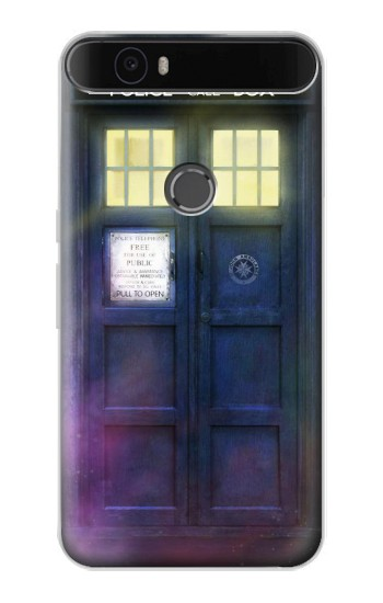Printed Tardis Phone Box Huawei Nexus 6P Case