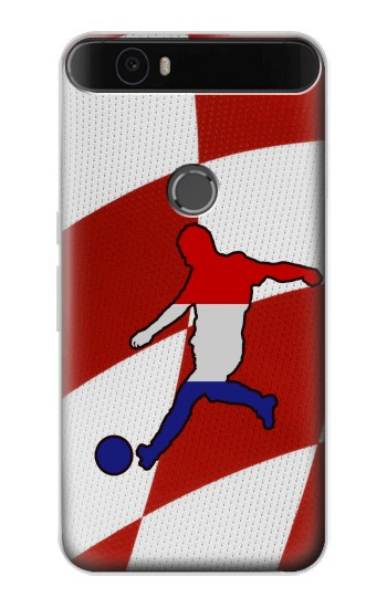 Printed Croatia Football Flag Huawei Nexus 6P Case