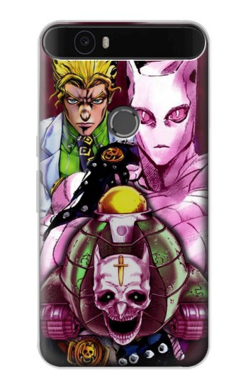 Printed Jojo Bizarre Adventure Kira Yoshikage Killer Queen Huawei Nexus 6P Case