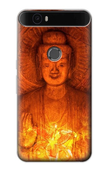 Printed Buddha Spiritual Holy Lights Huawei Nexus 6P Case