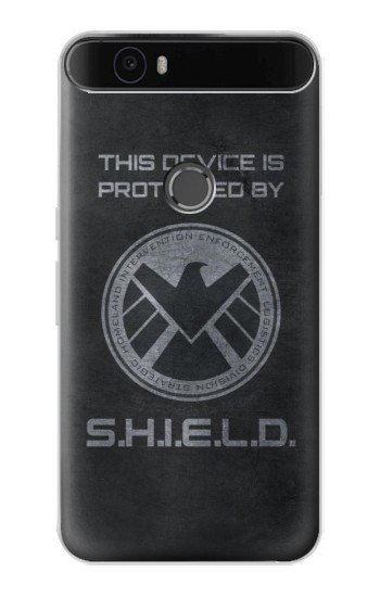 Printed This Device is Protected by Shield Huawei Nexus 6P Case