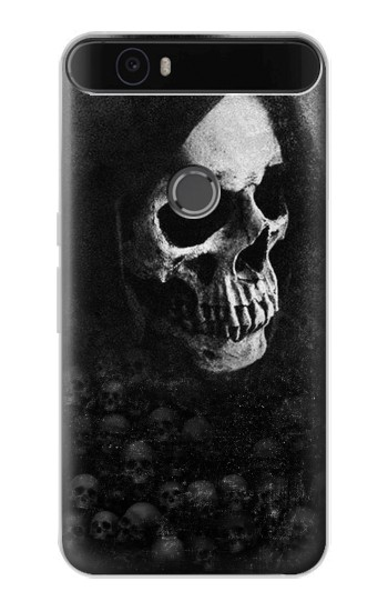 Printed Death Skull Huawei Nexus 6P Case
