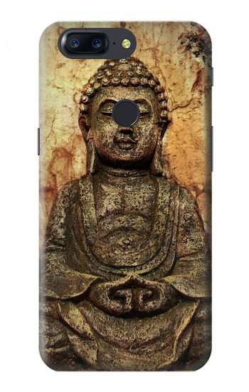 Printed Buddha Rock Carving OnePlus 5T Case