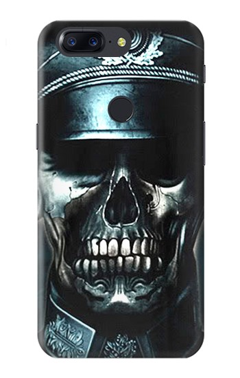 Printed Skull Soldier Zombie OnePlus 5T Case