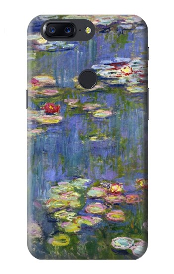 Printed Claude Monet Water Lilies OnePlus 5T Case