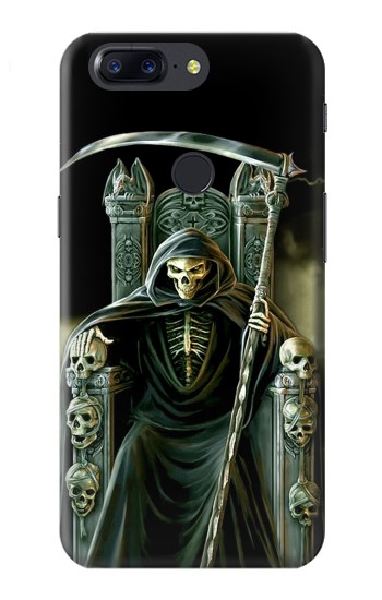 Printed Grim Reaper Skeleton King OnePlus 5T Case