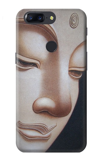 Printed Buddha Face OnePlus 5T Case
