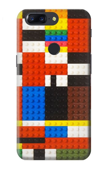 Printed Brick Toy Lego Graphic Printed OnePlus 5T Case