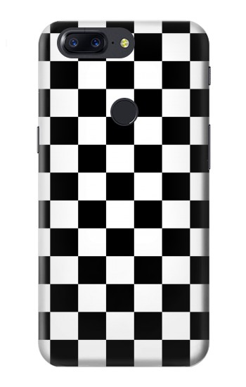 Printed Checkerboard Chess Board OnePlus 5T Case