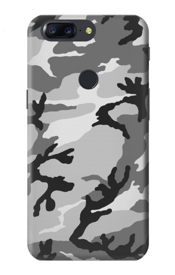 Printed Snow Camo Camouflage Graphic Printed OnePlus 5T Case