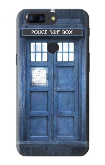 Printed Doctor Who Tardis OnePlus 5T Case