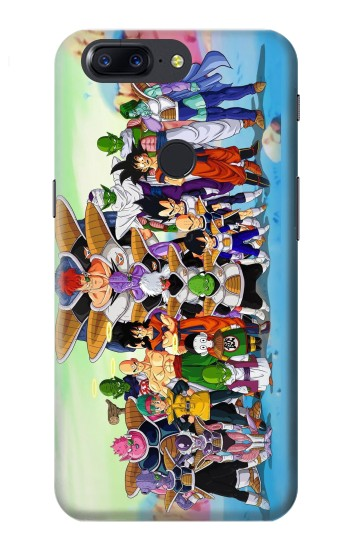 Printed Dragon Ball Z OnePlus 5T Case